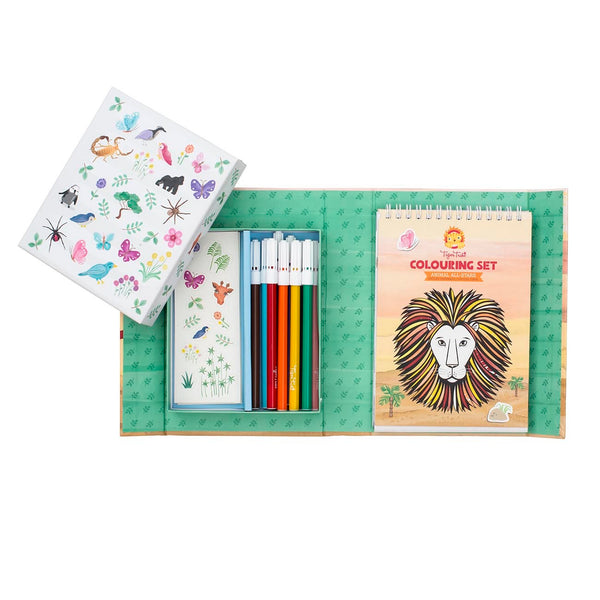 Colouring Set - Animals All-Stars