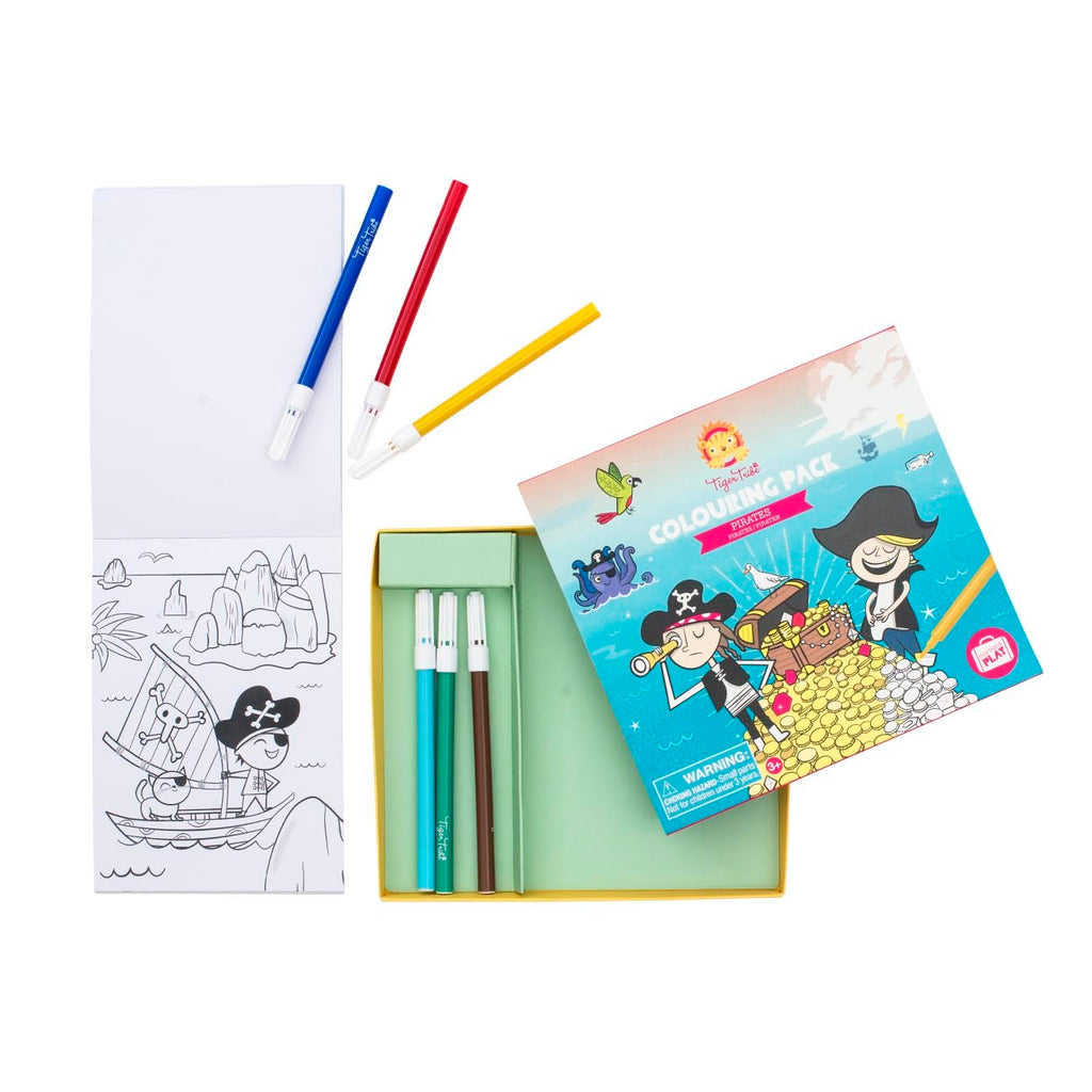 Colouring Pack - Pirates - toybox.ae