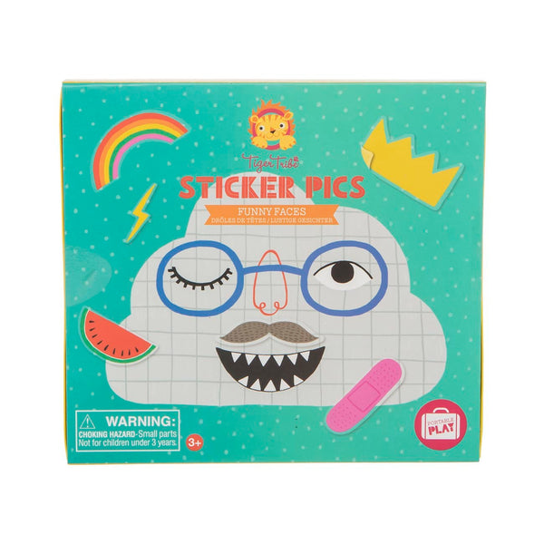 Sticker Pics - Funny Faces - toybox.ae