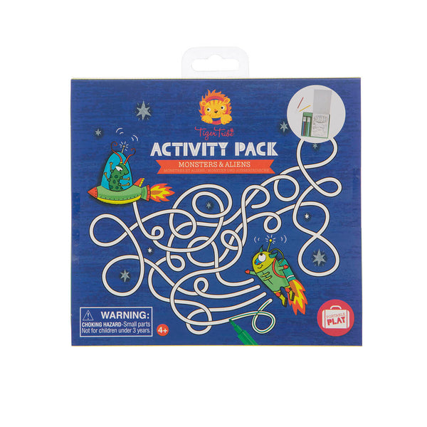 Activity Pack - Monsters & Aliens - toybox.ae