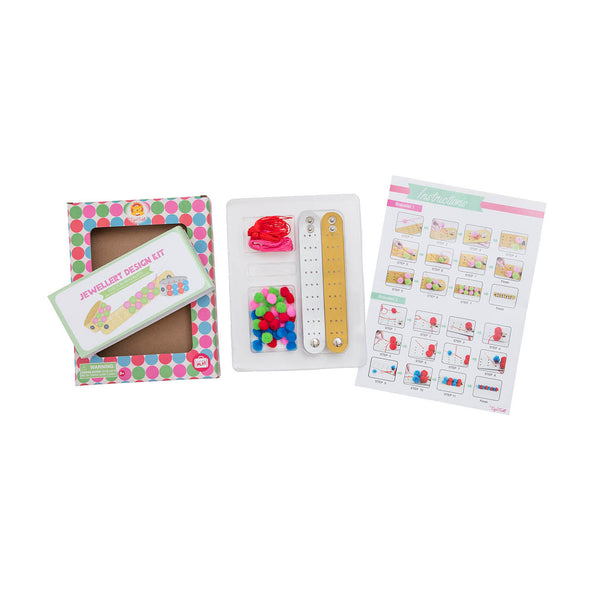Jewellery Design Kit - Pom Pom Bracelet
