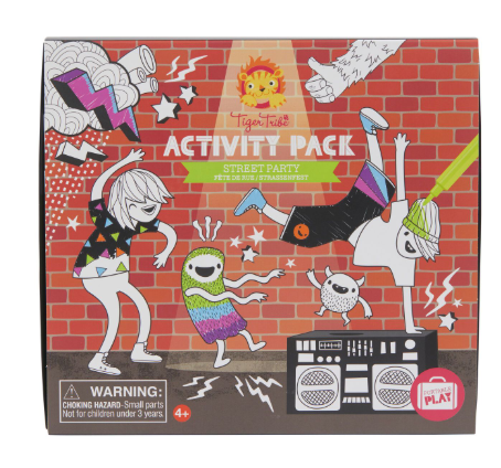 Activity Pack - Street Party - toybox.ae