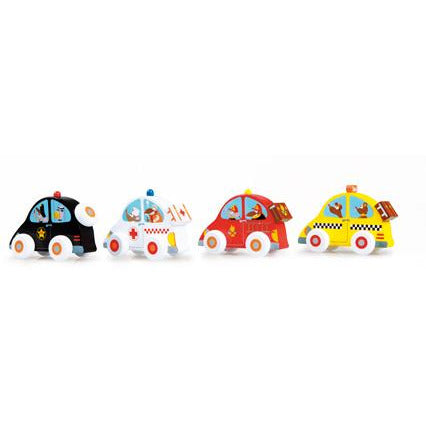Scratch Push Around Cars in 4 different Colours - toybox.ae