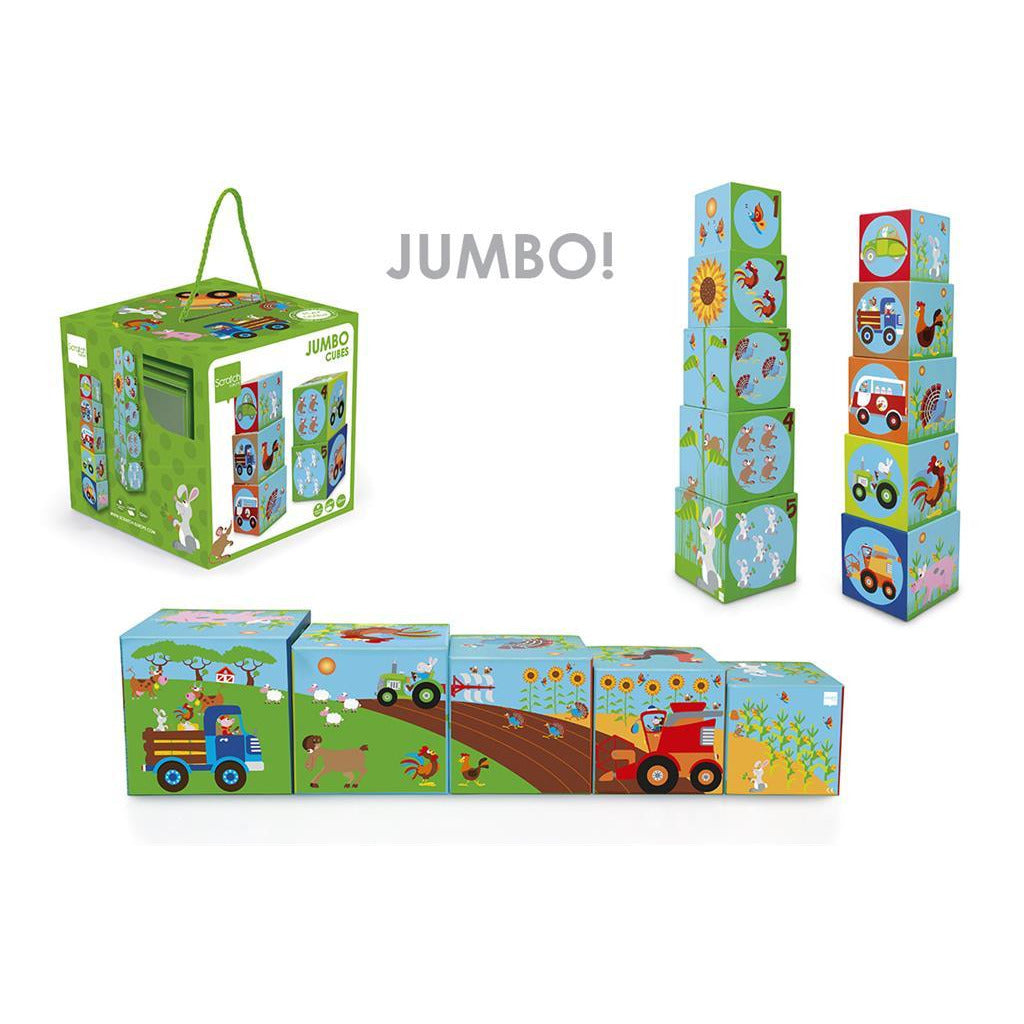 Scratch Stacking Tower Jumbo - toybox.ae