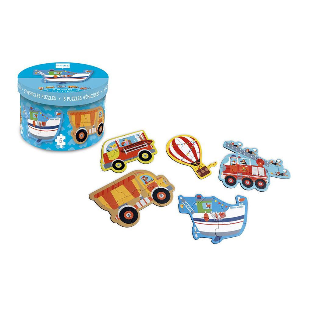 Scratch Starterpuzzle Vehicle - toybox.ae