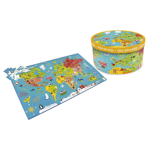 Scratch Puzzle World Map - toybox.ae
