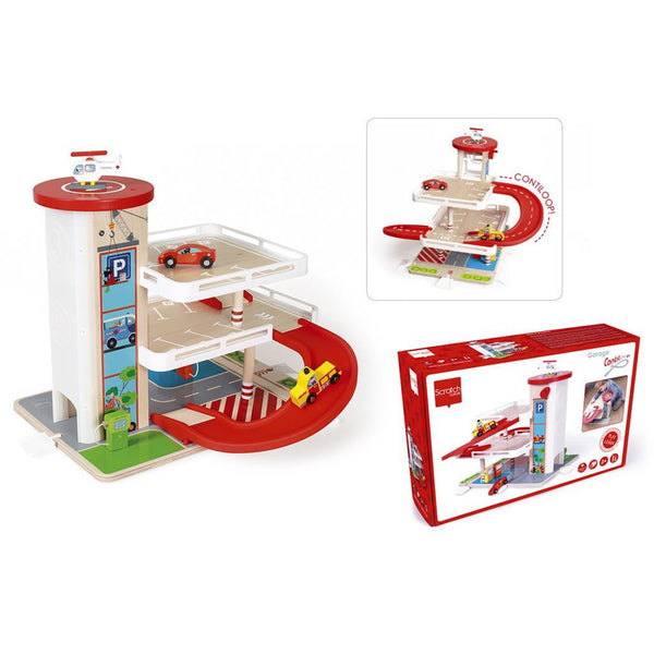 Scratch Garage With Contiloop/Elevator - toybox.ae