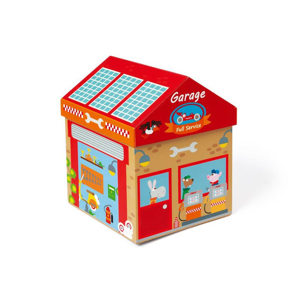 Scratch Play Box Garage 2 in 1 - toybox.ae