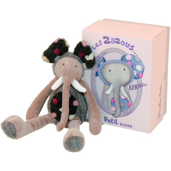 Moulin Roty Small Elephant Doll - toybox.ae