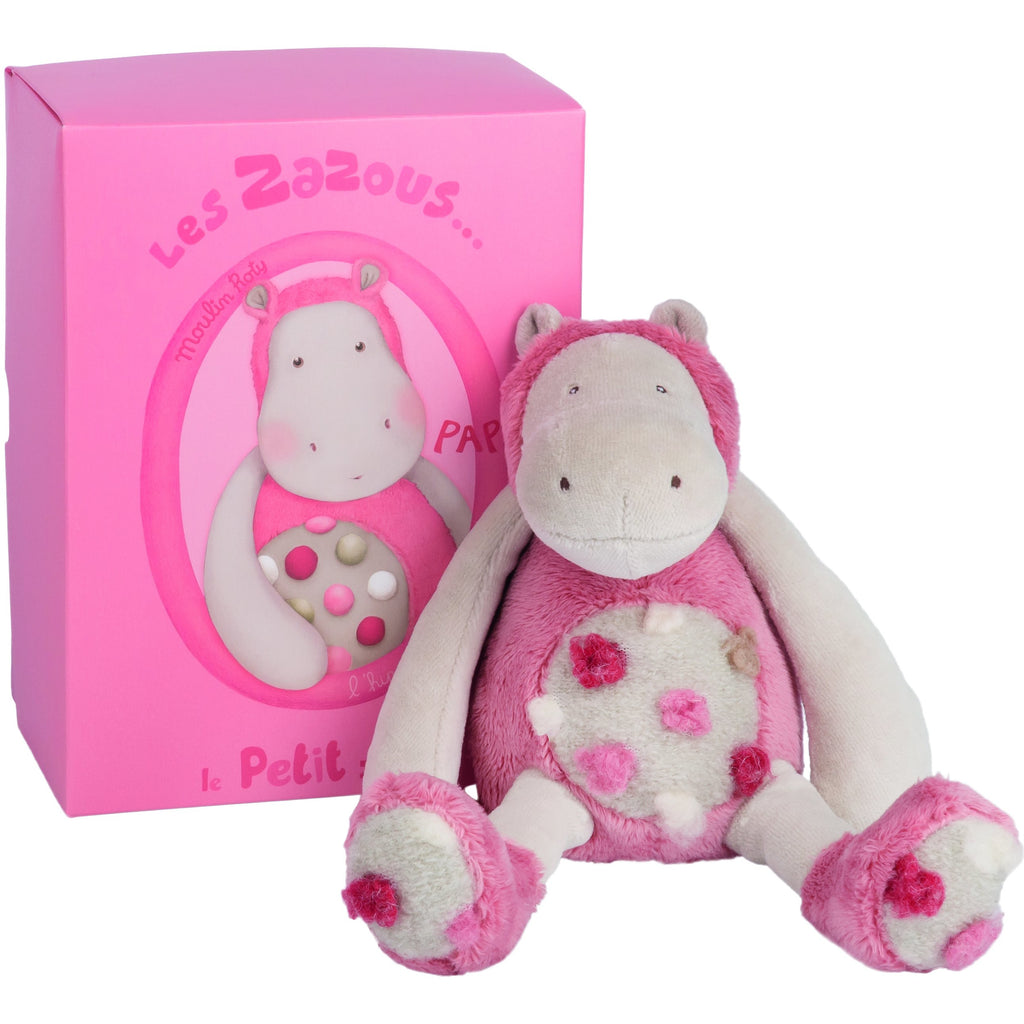 Moulin Roty Small Hippo Doll - toybox.ae