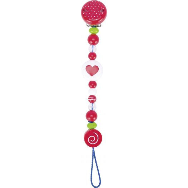 Heimess Soother Chain Heart - toybox.ae
