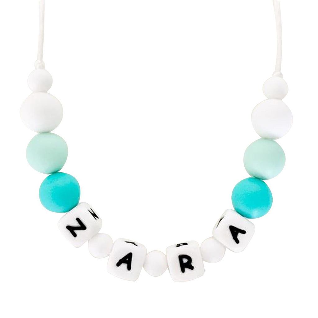 Desert Chomps Little Missy Necklace - Mint - toybox.ae