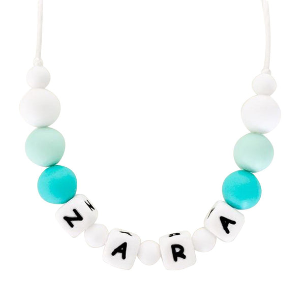 Desert Chomps Little Missy Necklace - Mint