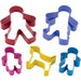 LET´S MAKE STAINLESS STEEL GINGERBREAD FAMILY COOKIE CUTTER SET - toybox.ae