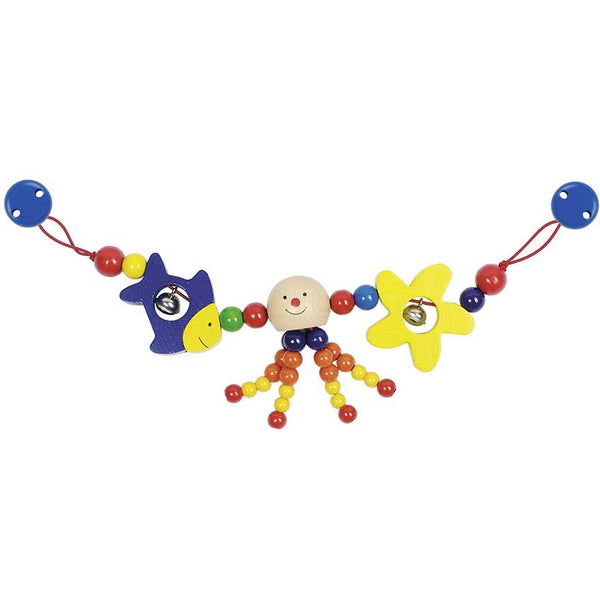 Heimess Pram Chain Octopus with clips - toybox.ae