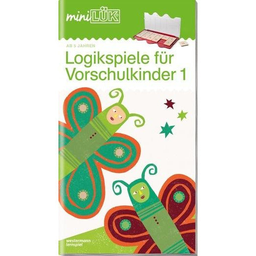 MiniLÜK Brain Jogging for Pre - School 1 - toybox.ae