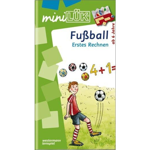 MiniLÜK Football First Calculation Elementary learning for children from 6 years - toybox.ae