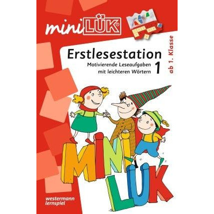 MiniLÜK - First Reading in German 1 - Erstlesestation 1 - toybox.ae