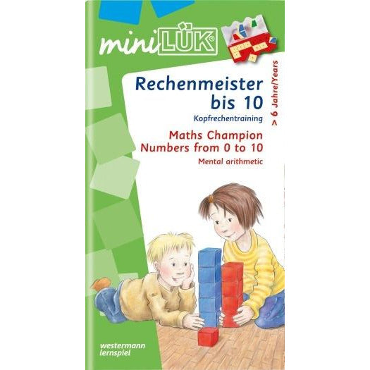 MiniLÜK Maths Champion Numbers 1 - 10 - toybox.ae