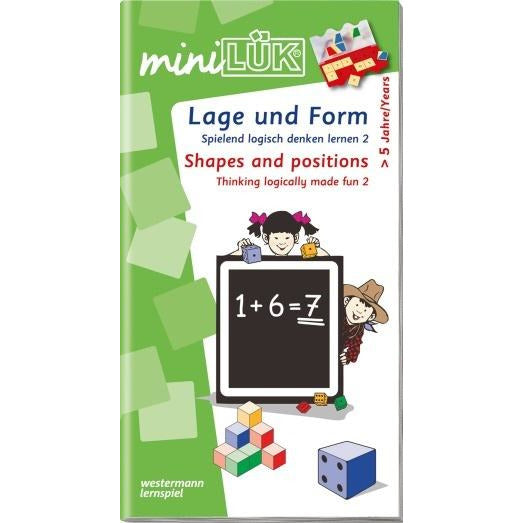 MiniLÜK Shapes And Positions - toybox.ae