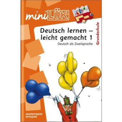 MIniLÜK Learning German - made easy 1 , German as second language for elementary school - toybox.ae