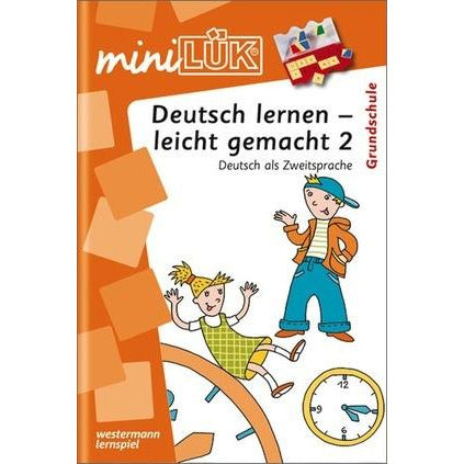MiniLÜK Learning German - made easy 2 German as Second Language for Elementary School - toybox.ae