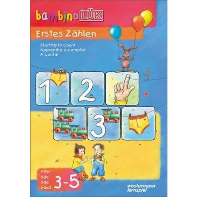 bambinoLÜK First Counting 3 - 5 years - toybox.ae
