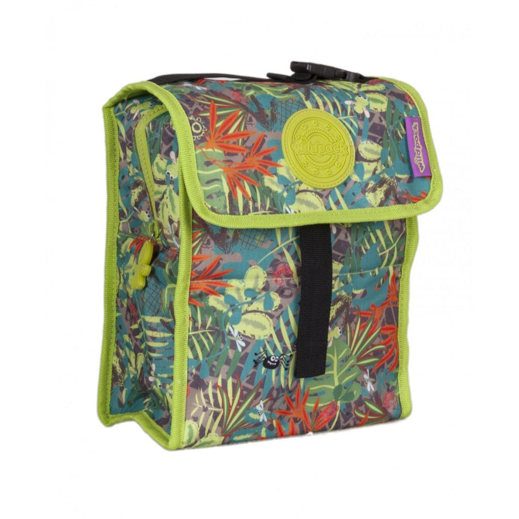 Okiedog Wildpack Jungle Fever Safari Foldable Lunch Bag Boy - toybox.ae