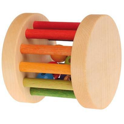 Grimm's Mini Rolling Wheel, rainbow - toybox.ae