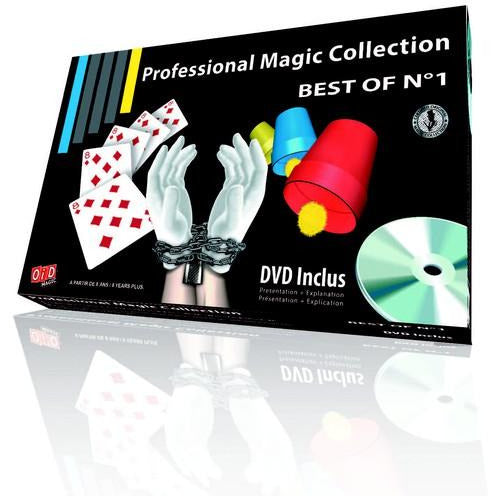BEST OF No1        3 TRICKS AND ILLUSIONS  WITH DVD - toybox.ae