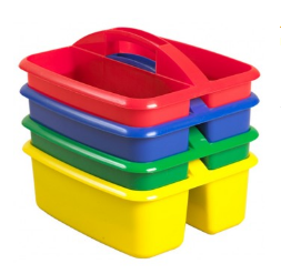 Table Storage Boxes - 4 pack - toybox.ae