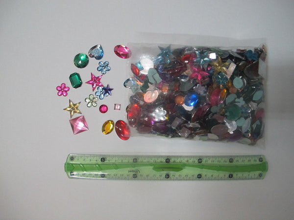 Acrylic Jewel 2D For Costume Making