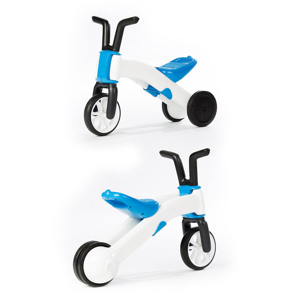 Chillafish Bunzi Bike Blue - 2-in-1 Gradual Balance Bike - toybox.ae