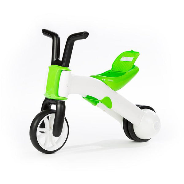 Chillafish Bunzi Bike Lime - 2-in-1 Gradual Balance Bike - toybox.ae