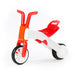 Chillafish Bunzi Bike Red - 2-in-1 Gradual Balance Bike - toybox.ae