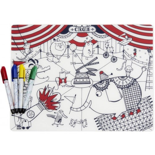 Modern - Twist Mark Mat  Circus incl. 4 Markers - toybox.ae