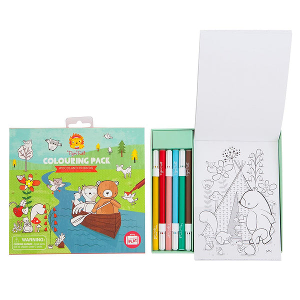 Colouring Pack - Woodland Friends