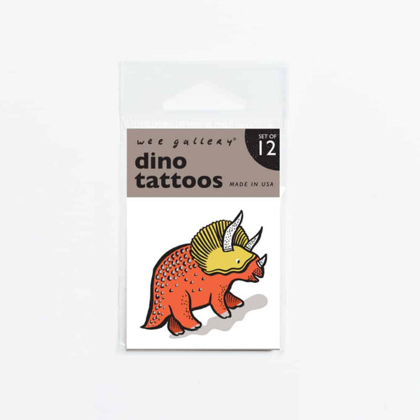 Wee Gallery Dino Temporary Tattoos