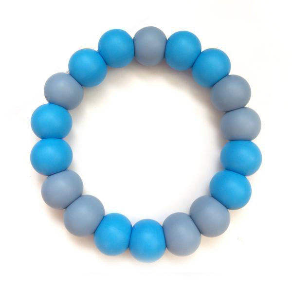 Desert Chomps Solo Classic Teether - Sky Blue - toybox.ae