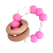 Desert Chomps Ringlet Summer Time Teether - Strawberry Swirl - toybox.ae