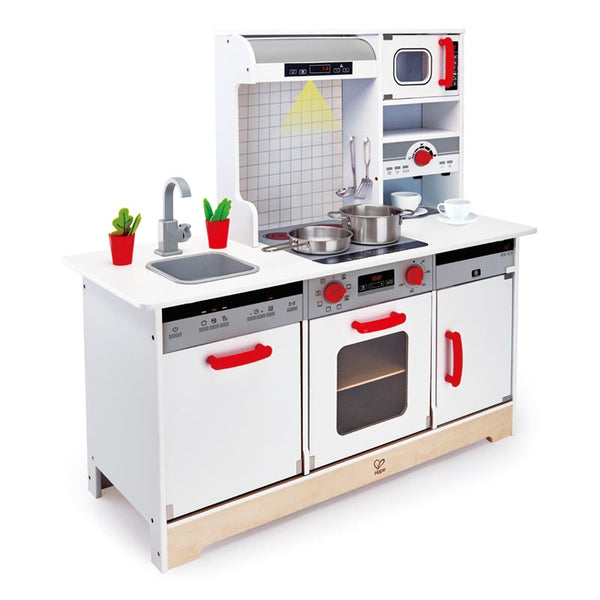 Hape All - In - 1 Kitchen - toybox.ae