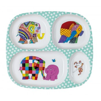 Petit Jour Paris Elmer serving tray with 4 compartments - toybox.ae