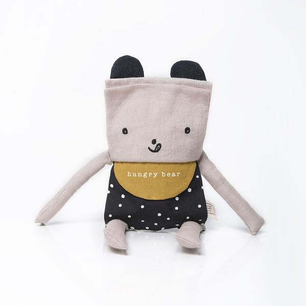 Wee Gallery Organic Flippy Friends - Bear
