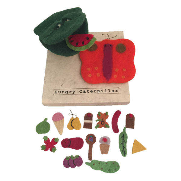 Hungry Caterpillar/all food/butterfly - toybox.ae