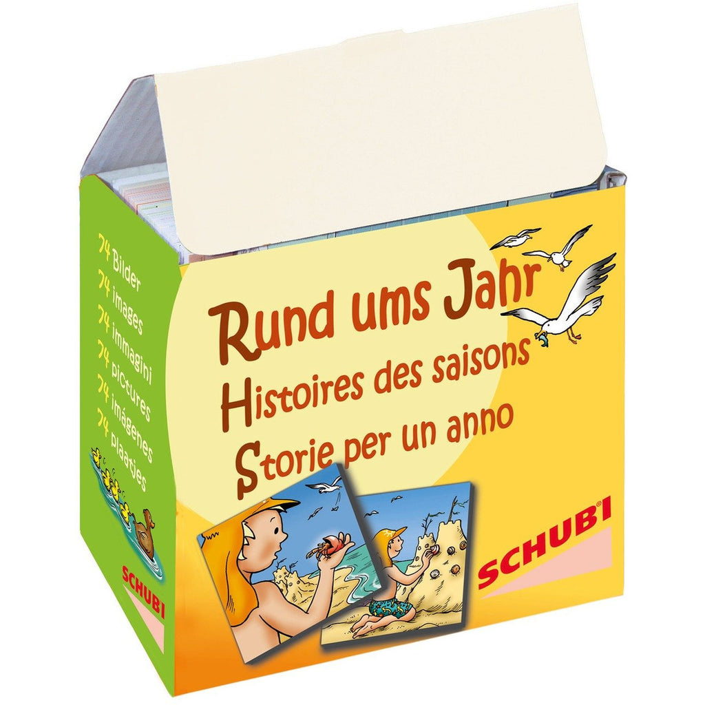 "Schubi Flash Cards "" All Year Round"" - toybox.ae"