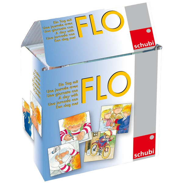 Schubi Flash Cards A Day with Flo - toybox.ae