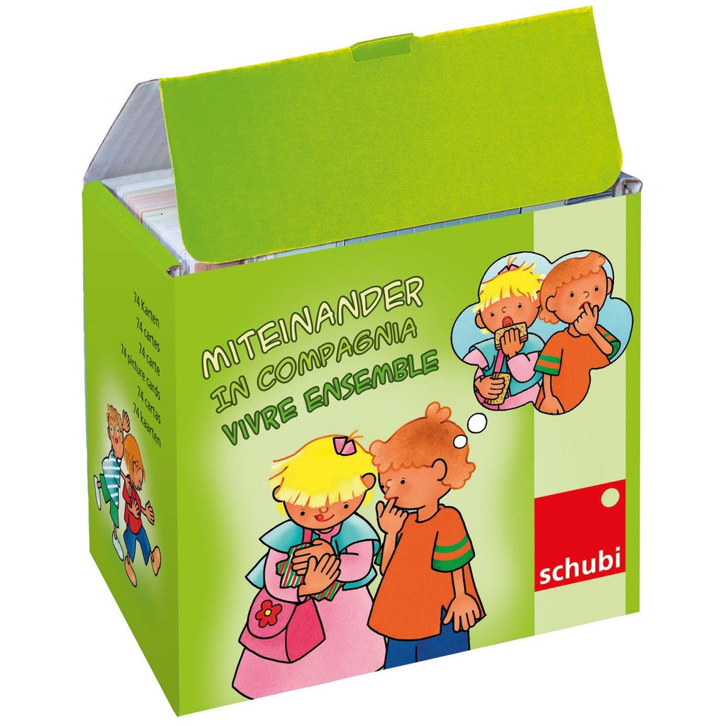 Schubi Flash Cards Let's get on together! - toybox.ae