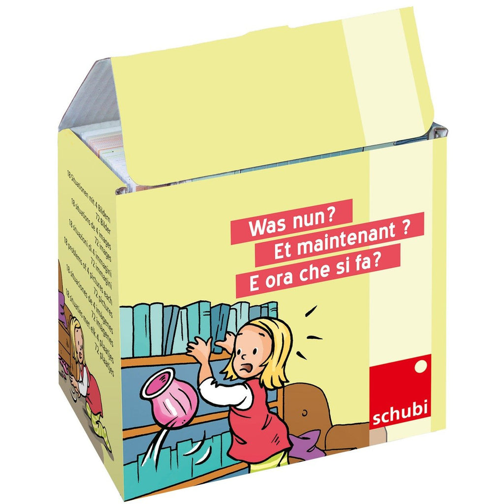 Schubi Flash Cards What to do now? - toybox.ae