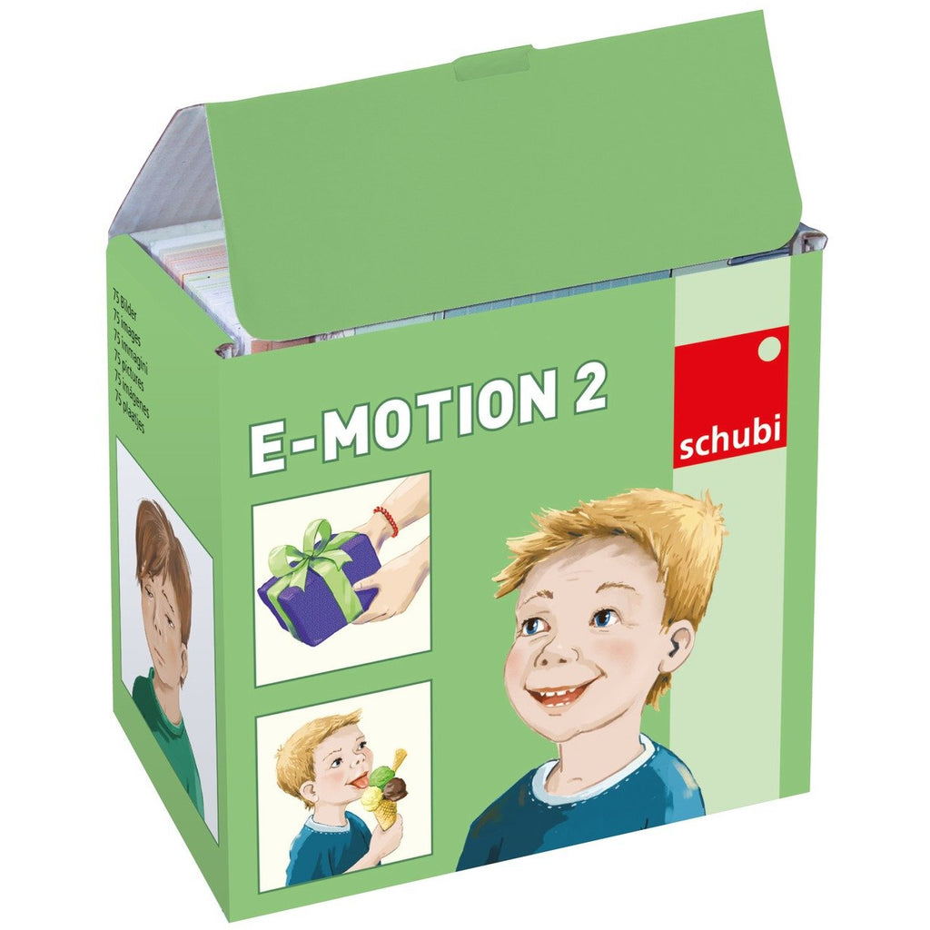Schubi Flash Cards Emotion 2 - toybox.ae