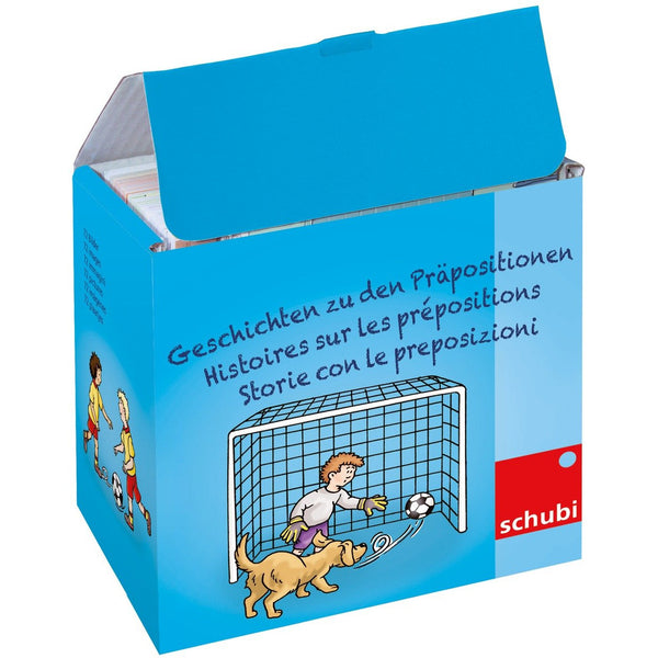 Schubi Flash Cards Preposition Stories - toybox.ae